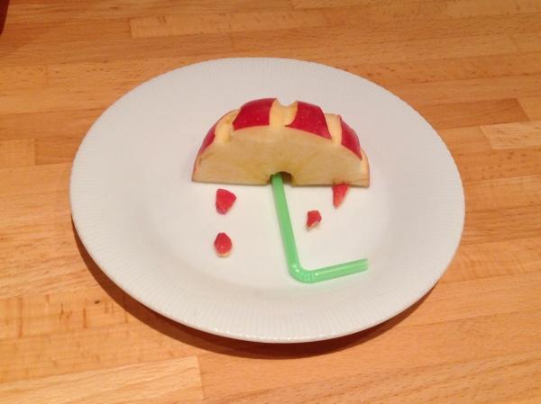 Ombrellino mela